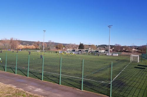 Le Stade Montaury 13320 bouc bel air